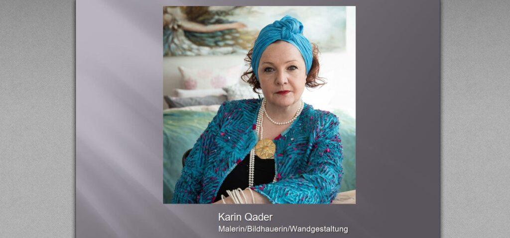 Karin Qader Lilla | Malerin / Bildhauerin / Wandgestaltung